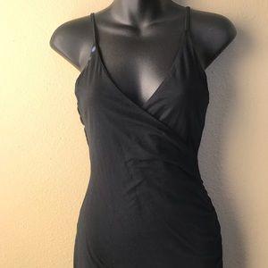 Kookai LBD sexy black dress Kaya asymmetrical hem